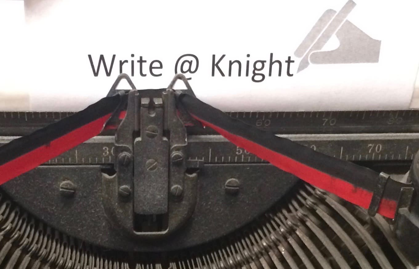 Write@Knight Antique Typewriter