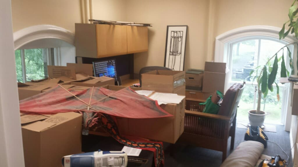Knight West Office Move to McGraw Hall Mezzanine