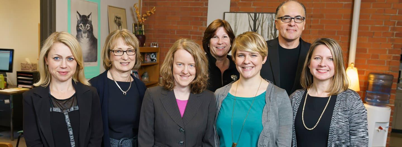 Knight Institute staff smile into the camera