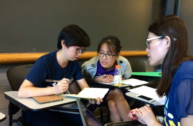 Group work in ELSO class